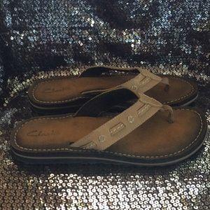 Clark's Flip Flops Sandal